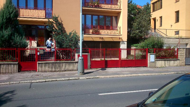 Nátěr plotu - Bráník