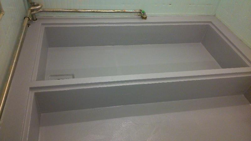 renovace nádrže - Firmy Baxter