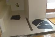 Epoxidová litá podlaha s kameny