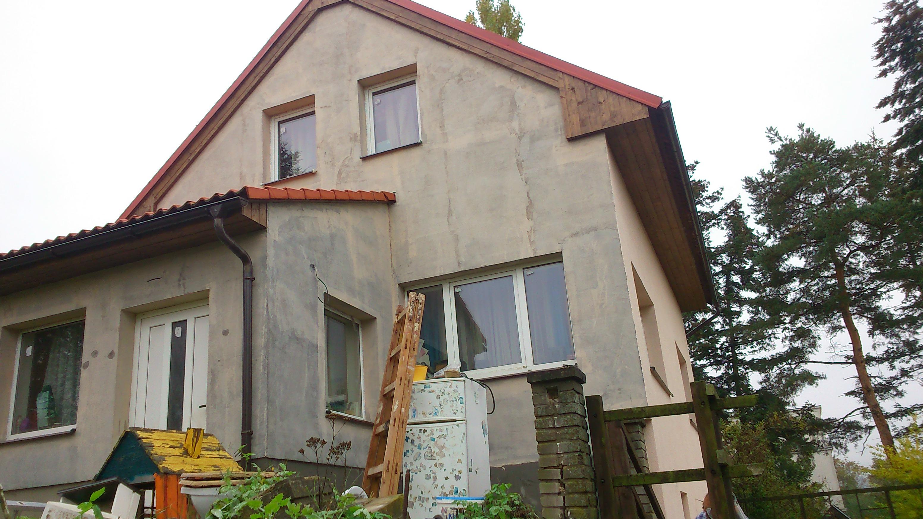 Penetrační nátěr fasády - Lipence