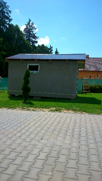 Zateplení- zahradního domku