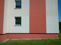 Oprava fasády po nápisech
