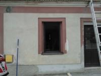 Renovace fasády - Pacov