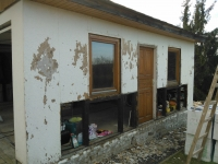 Renovace garáže Velké Popovice