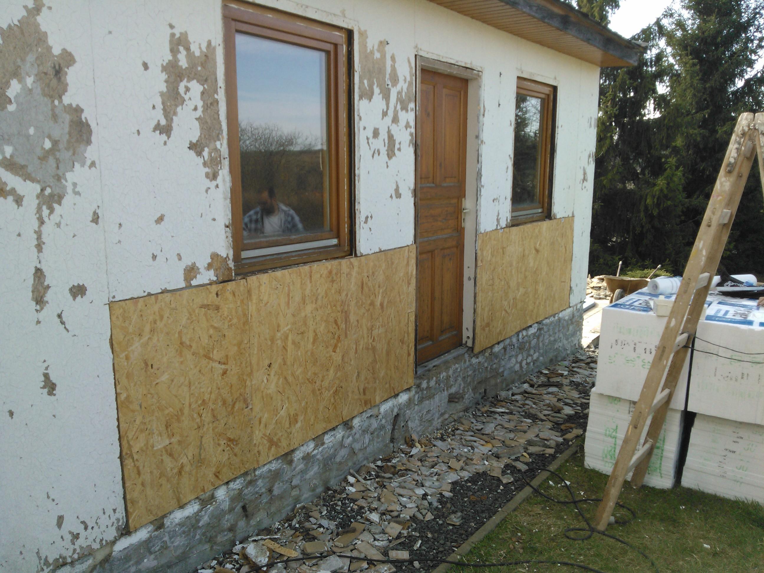 Renovace garáže - Velké Popovice