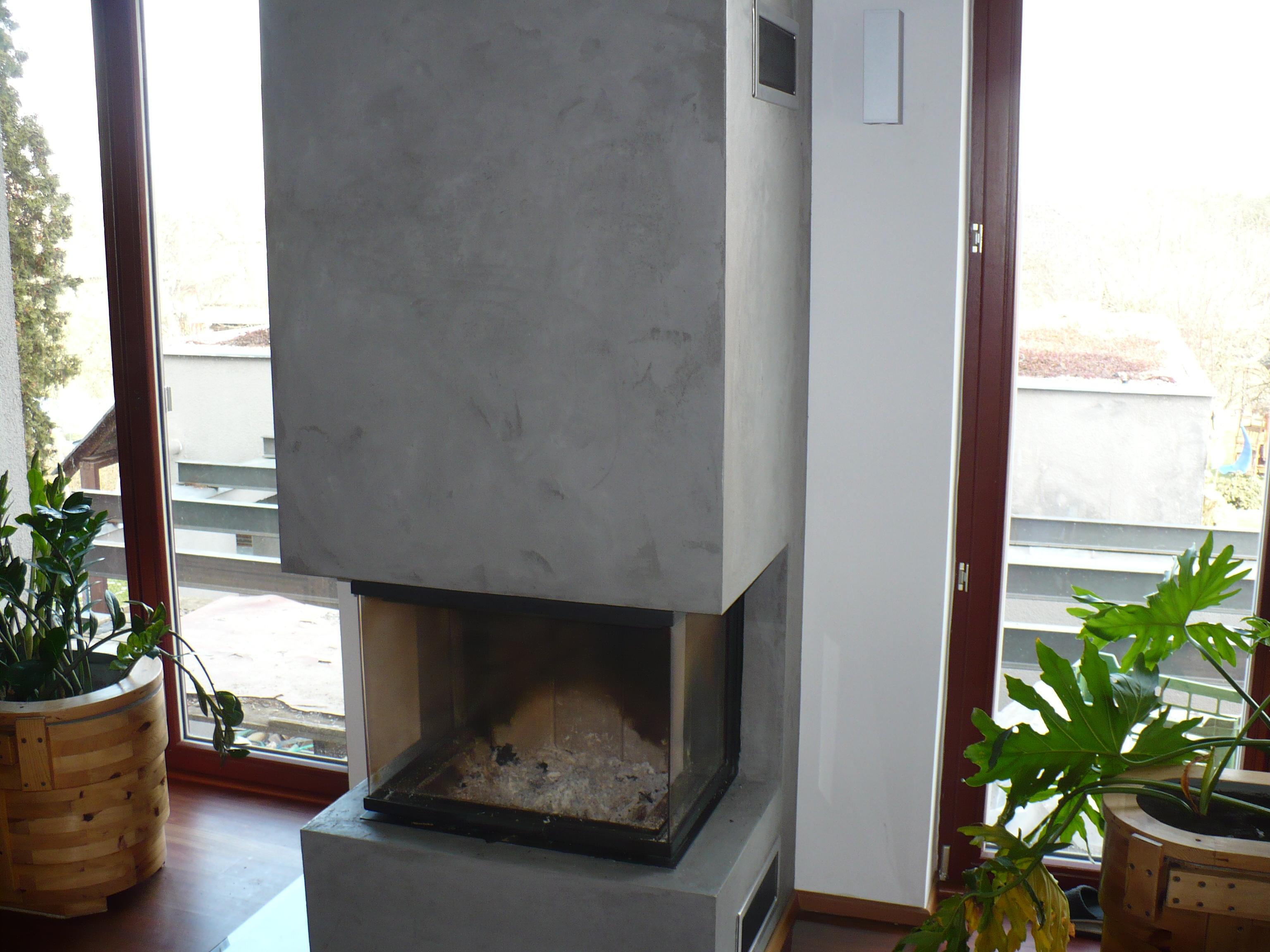 Krb - imitace betonu