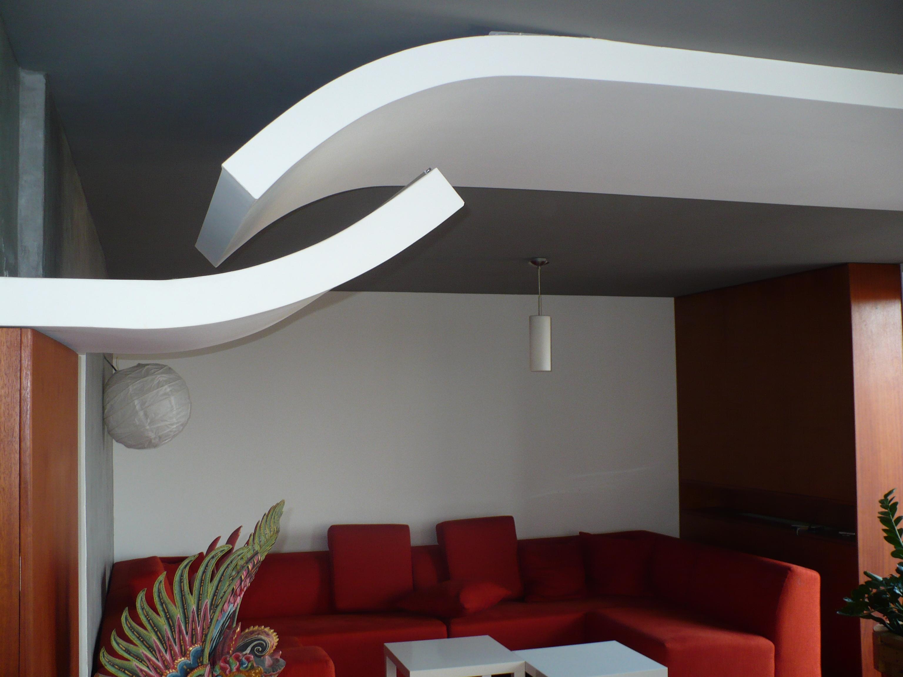 Moderní styl - obývací pokoj