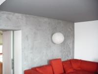 Stěna - imitace betonu